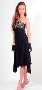 модели платьев в пол.